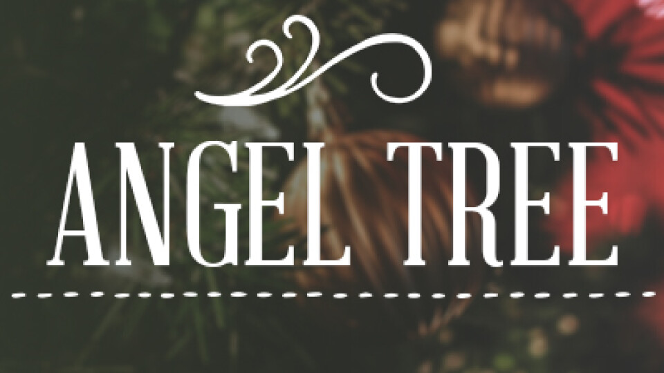 Angel Tree - Tag Writing 2018