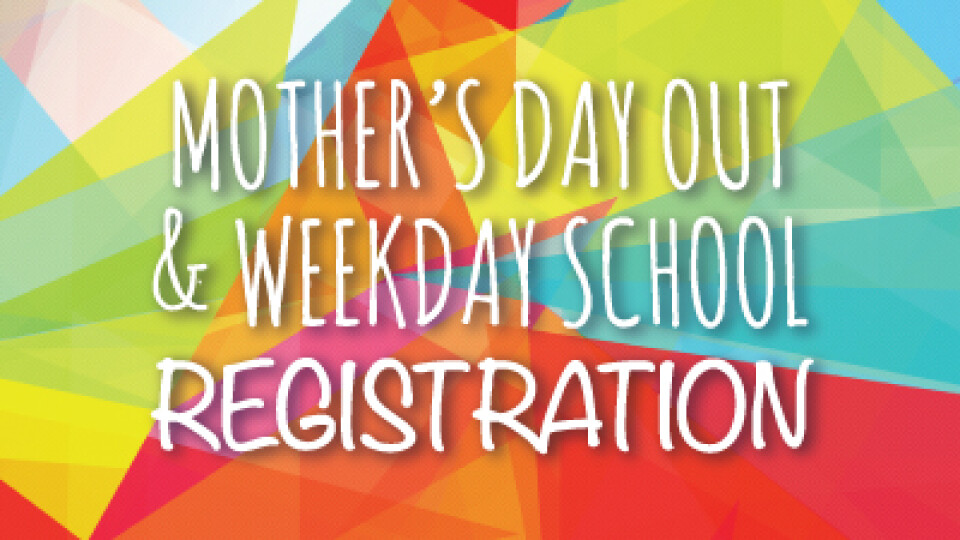 MDO/Weekday Church Member/Current Student Registration
