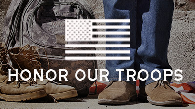 Honor Our Troops - HOT Sunday