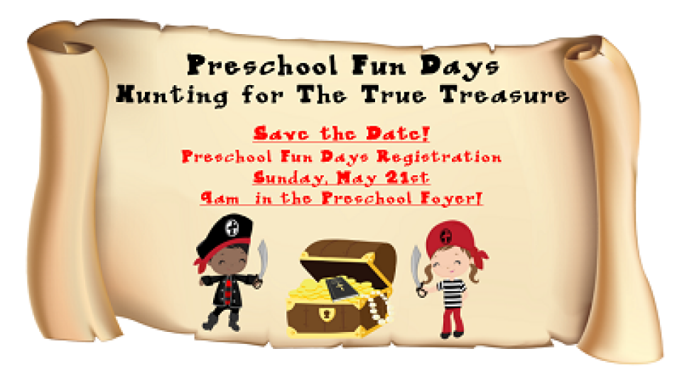 Preschool Fun Day Registration Central Bryan College Station