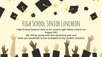 High School Senior Luncheon