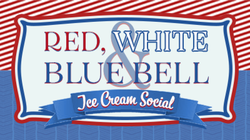 Legacy Adults Red, White & Bluebell Ice Cream Social