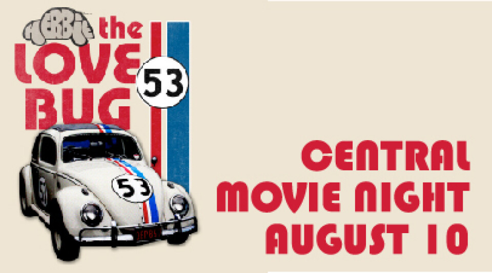 Central Movie Night - The Love Bug (Herbie)