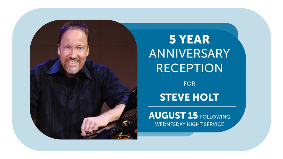 Anniversary Reception for Steve Holt