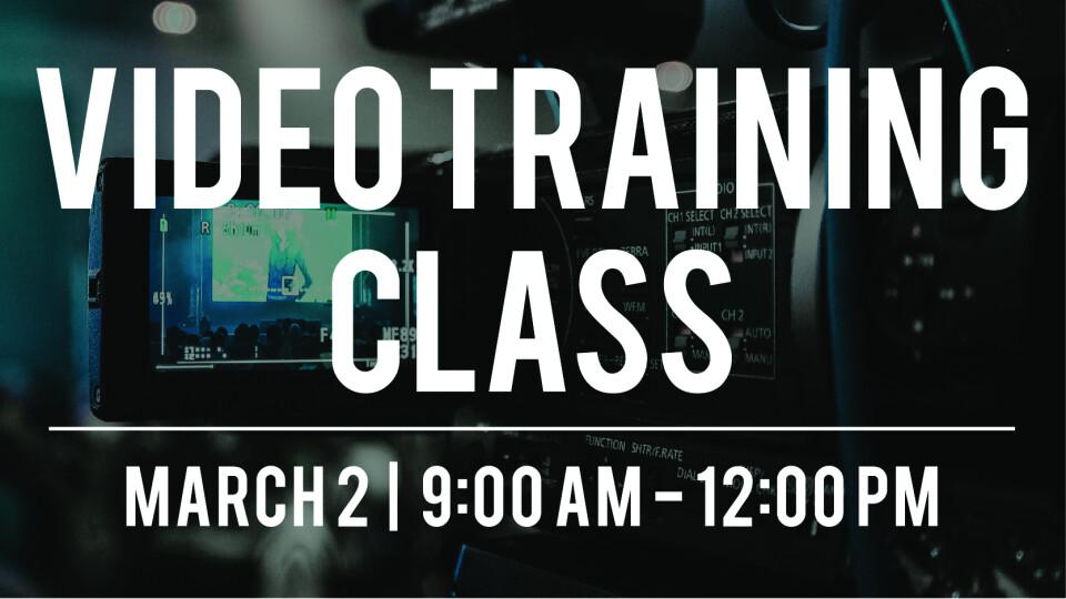 Video Training Class