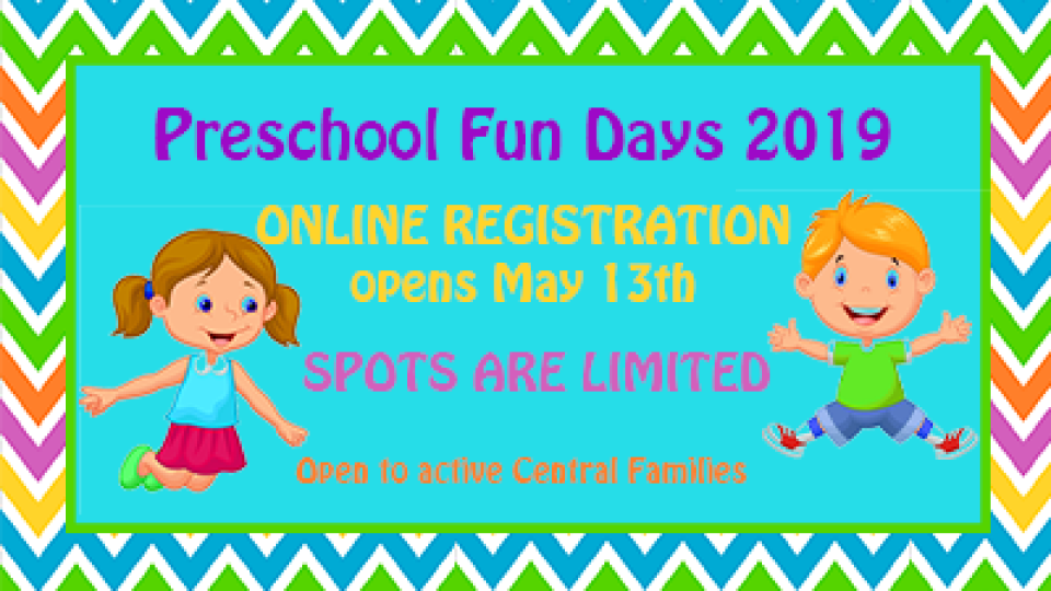 Preschool Fun Days Central Bryan College Station