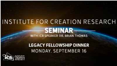 Legacy Fellowship Institute for Creation Research