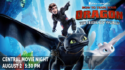 Central Movie Night- How to Train Your Dragon 3