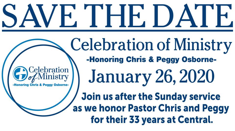 Chris and Peggy Osborne: Celebration of Ministry