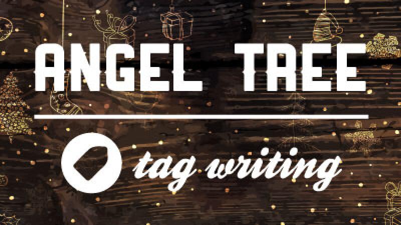 Angel Tree - Tag Writing 2020
