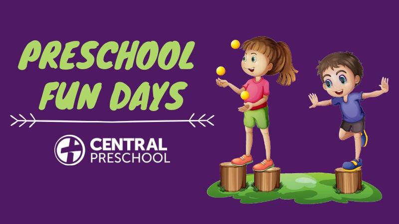 Preschool Fun Days