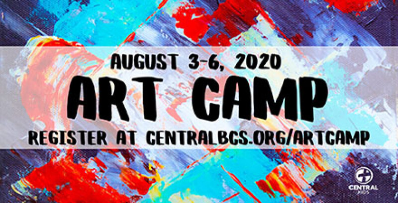 Kids Art Camp, 3rd-5th Grade