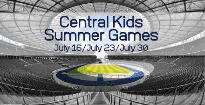 Central Kids Summer Game Days