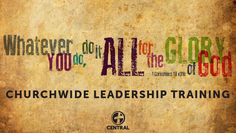 Churchwide Life Group Leadership Training