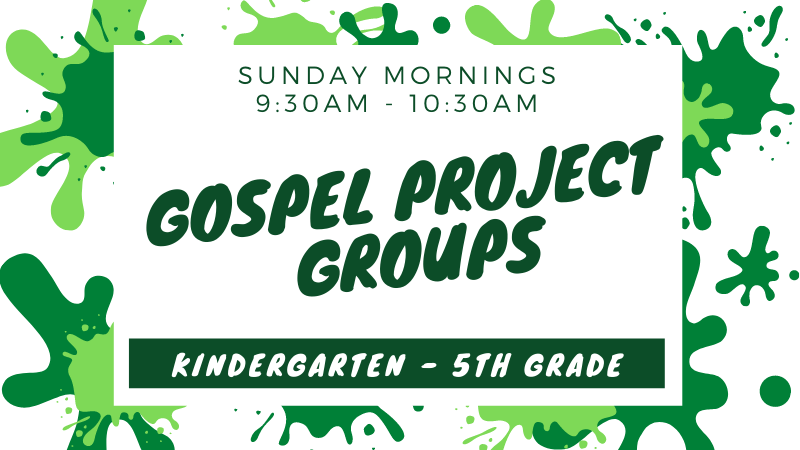 Kids Gospel Project Groups