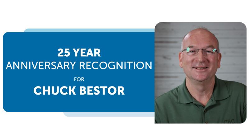 Chuck Bestor's 25th Anniversary