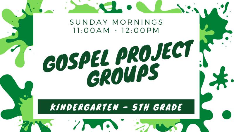 Kids Gospel Project Groups
