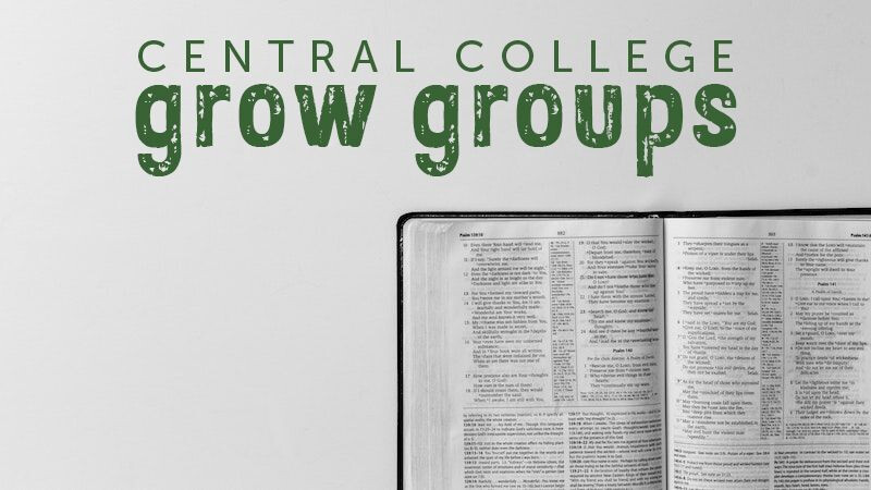 College Grow Groups