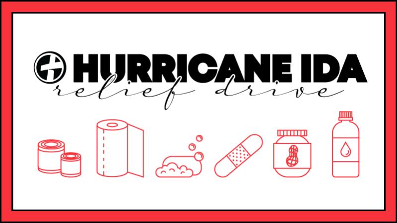 Hurricane Ida Relief Drive
